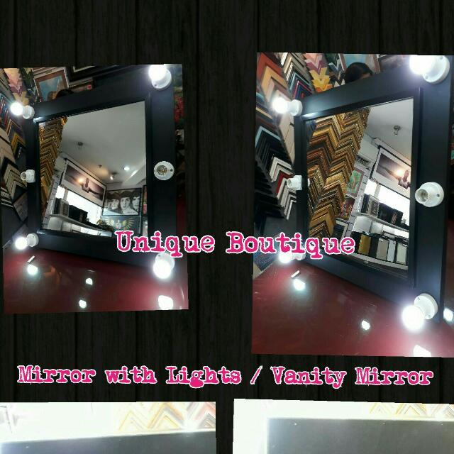 Vanity Mirror Mirror With Lights
