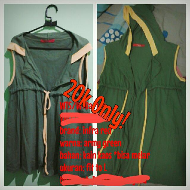 Vest Army green By Infra Red