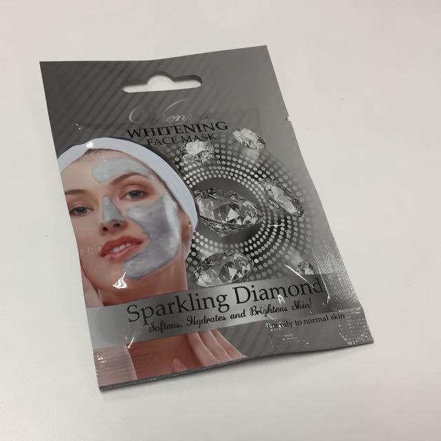vienna face mask sparkling diamond