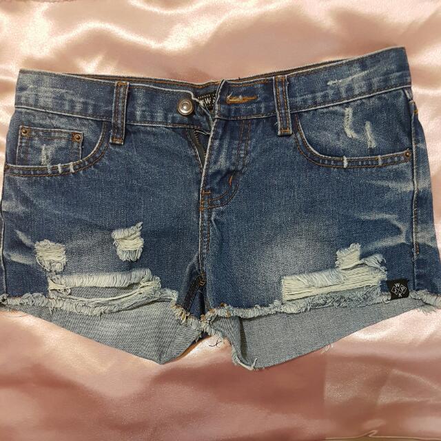 WAKAI Short Ripped Jeans