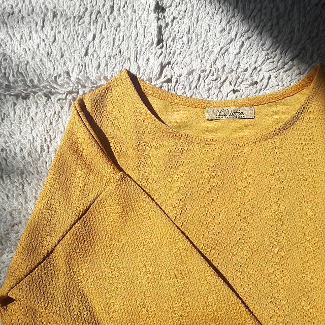 Warm Yellow Top