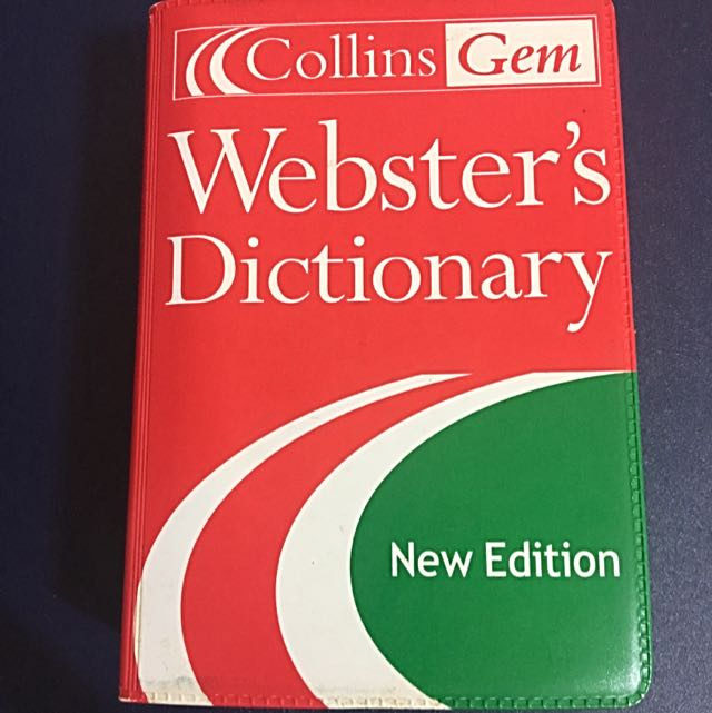 Webster's Dictionary