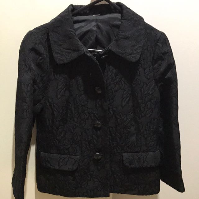 Women's Black Blazer XS In Fantastic Condition!