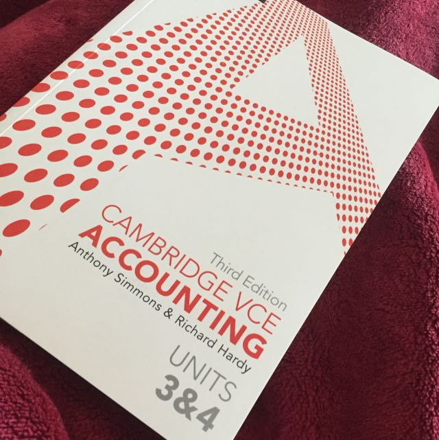 Year 12 Accounting Textbook