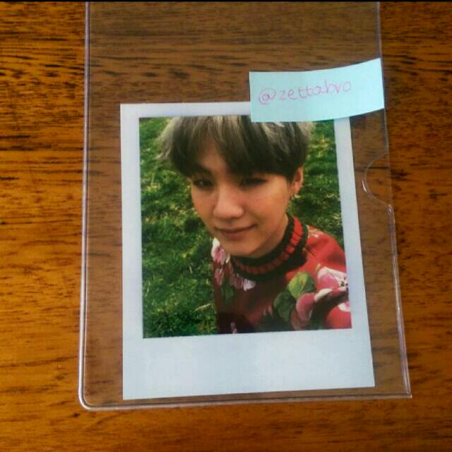Young Forever Suga Photocard [Free Postage]