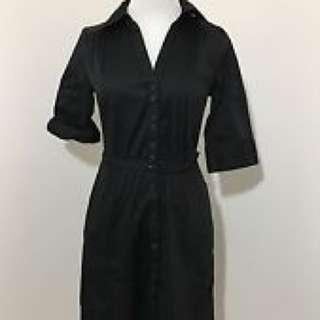 H&M Black Shirt Dress Size 12