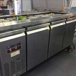Display Bar With Chiller ( With Delivery )