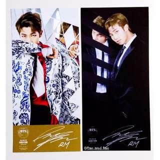 "BTS Official ""Best of BTS"" Deluxe Ed. Postcards - Rap Monster"