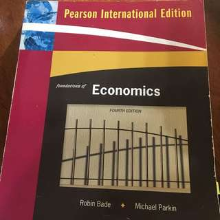 Foundations Of Economic