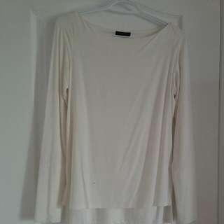 Rw white blouse