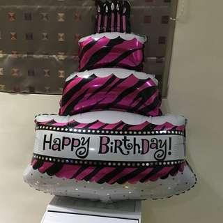 蛋糕氣球 生日 氣球