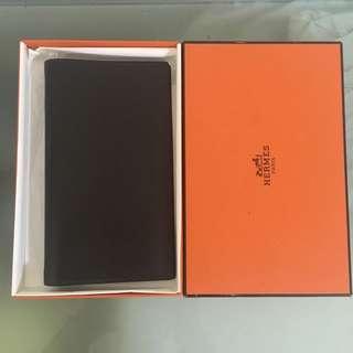 (可換) NEW Hermes Leather Passport Cover Chanel Lv Gucci Prada Loewe Birkin Kelly Ysl Givenchy Valentino