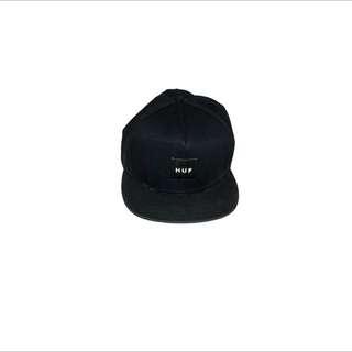 Huf  帽 二手 棒球帽 全黑