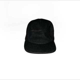 全新 4dimension 五分割帽 全黑