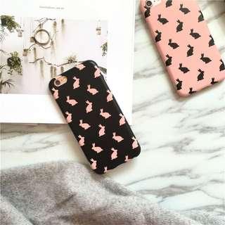 現貨 iPhone7系列 韓風 兔子殼  IMD 全包邊軟殼