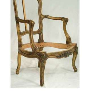 Chair Frames - Hand Carved French Antique Reproduction - $200