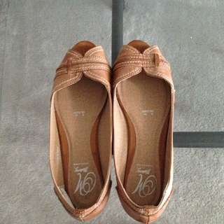 Caramel Colored Flats