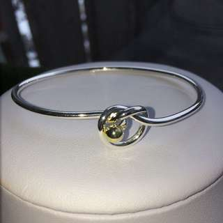 Silver Filled Bracelet & Ring Set