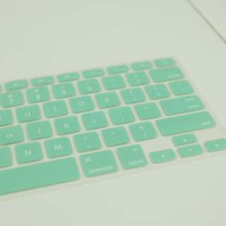 Keyboard Protector Macbook Mint Green Hijau