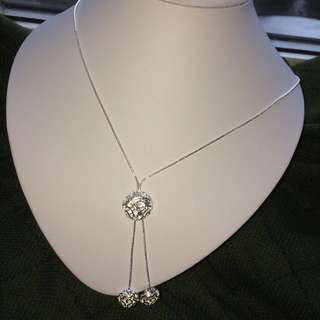 Silver Necklace/Bracelet/Earring/Ring Set
