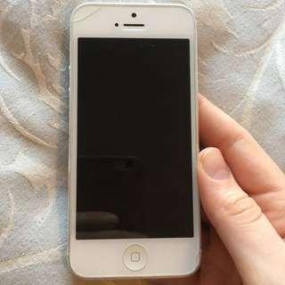 White iPhone 5 Unlocked