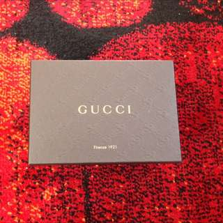 REDUCED: Authentic Gucci 3 Fold Wallet