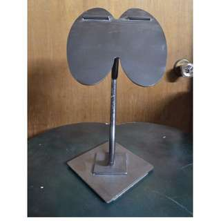 VINTAGE Cast iron Shoe Display Stand