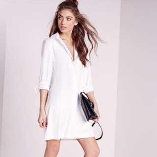 Missguided long sleeve dress
