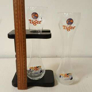 2 x Beer Glasses
