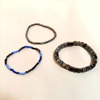 Assorted Beaded Bracelet Lot
