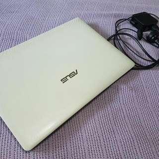 Asus White Laptop