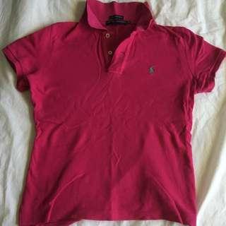 Ralph Lauren Crimson Polo