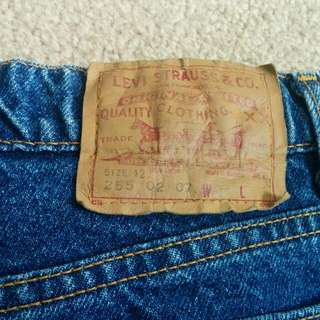 Vintage levis 255 (Like 555) Tapered Nice Fit