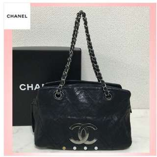 Chanel Wild Stitch Shoulder Bag