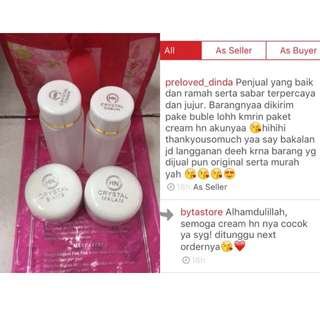 Paket Cream hn crystal ORIGINAL