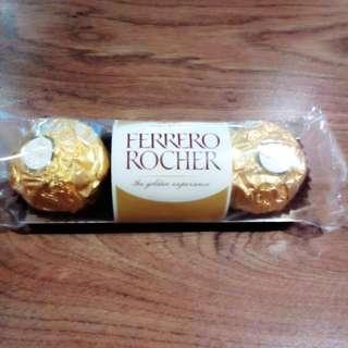 金莎巧克力3粒裝 (可用15張發票兌換)