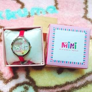 正韓 Mini 手工 立體 陶瓷錶 旋轉木馬 夢幻 正版 手錶