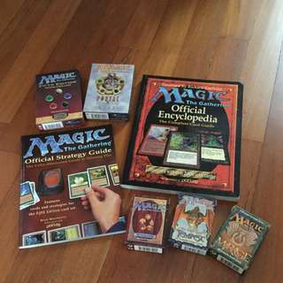 Magic The Gathering Guide Books And Cards