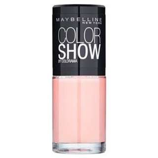 Maybelline Color Show Nail Polish; RRP-$12