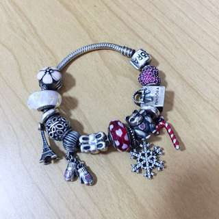 Authentic Pandora Bracelet Set