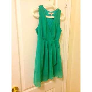 【F21】Mint green mini dress