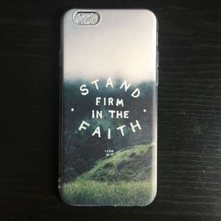 <Customized> iPhone 6 Stand Firm In The Faith Phone Case