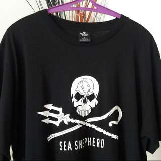 Sea Shepherd Jolly Roger Big Logo (Short Sleeve)