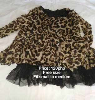 Leopard Long Sleeved