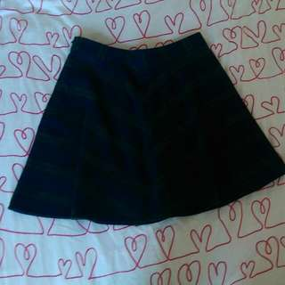 Navy/Green Skater Skirt Old Navy