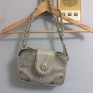 River Island Snakeskin-Style Handbag