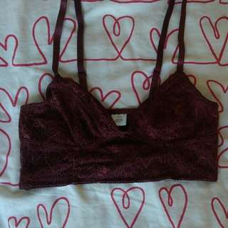Gorgeous Burgundy Bralette