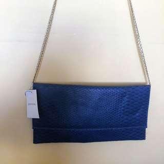 Blue Portman's Handbag