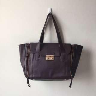 TARGET Burgundy Fashion Big Bag
