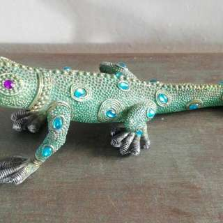 A Decorative Lizard